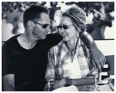 Sam Shepard and Jessica Lange by Donata Wenders, 2005