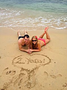 Cute anniversary picture idea for a Anniversary beach vow renewal