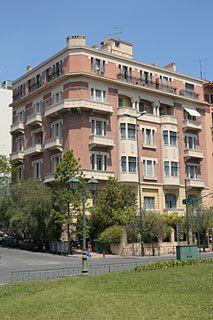 Apartment block V. Designed by Kostas Kitsikis Bauhaus, Athens Greece, Greek, Mansions, Architecture, Live, House Styles, Travel, Image