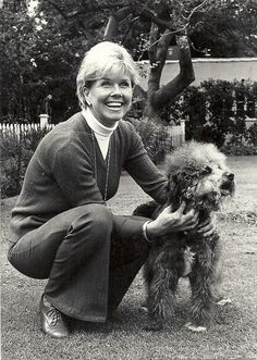 One of my favorite movie stars and animal activists Doris Day also a great singer
