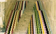 Staircase from a Victoria and Albert Museum installation