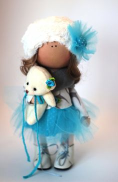 Summer Doll by Yulia Grigorieva.  Handmade soft doll is 26 cm (11 inch) tall. Used only quality materials. See more at:  http://estrina.com/AnnKirillartPlace/p462 ~~~~~~~~~~~~~~~~~ #vivid #fabric #summer #summerdoll #dolls #etsystore #handmadedolls #doll #love #loveetsy #collectible #tilda #etsyshopowner #etsylisting #collectibletoys #toys #kids #handmade #gift #giftideas #girls #handcrafted #handycraft #estrina #хендмейд #кукларучнойработы #кукла #подарок #игрушкиручнойработы