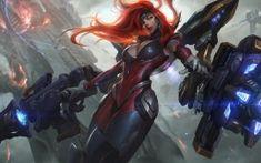 WALLPAPERS HD: Gun Goddess Miss Fortune League of Legends