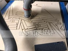 Australian customer said he is pretty happy after testing he want to engrave on the MDF by our ELECNC 1325  engraving machine.