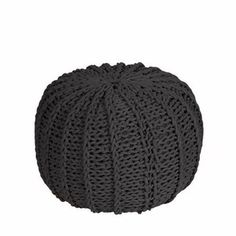 Pouf Anthracite, 125€, now featured on Fab.