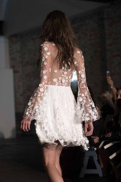 Bridesmaid Gowns: Rime Arodaky Fall 2018 Bridal / Photo: The LANE