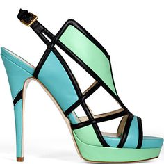 Not Loubies, but could see Vanessa in this shoe by Burak Yuan.
