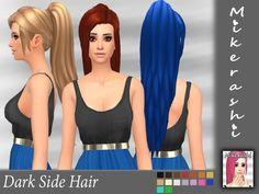 Dark Side Hair at Mikerashi • Sims 4 Updates
