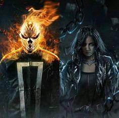 Beautiful artwork (not mine) All Marvel Movies, Marvel Characters, Shield Season 4, Cute Nerd, Ghost Rider Marvel, Superhero Villains, Cloak And Dagger, Marvels Agents Of Shield, Cultura Pop