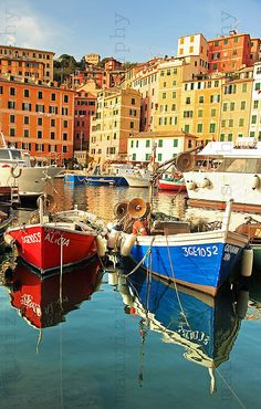* camogli *, Italy, by peo pea, via Flickr