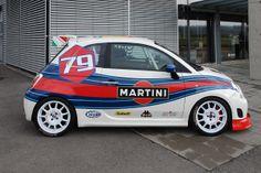Fiat Martini Racing | You Drive Car Hire | Faro Car Hire | Faro airport Car Hire | Portugal Car Hire | Algarve Car Hire - www.you-drive.cc Fiat 600, Fiat 500 Car, Fiat Cars, Automobile, New Fiat, Minis, Martini Racing, Fiat Abarth, Smart Car