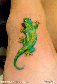 3d style gecko for cover up. I want my gecko to have the 3-D effect.