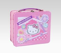 Hello Kitty Lunch Box Spring Flowers     More info could be found at the cc8086d135c67