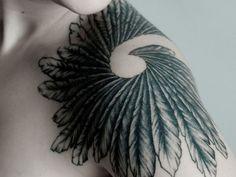 Wing tattoo - shoulder
