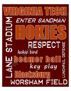 For the Hokie bar!