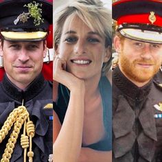Makes me feel both happy and sad to look at these pictures next to eachother. Lady Diana, Prince William and Prince Harry
