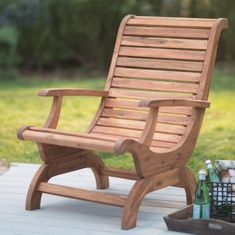 These free Adirondack chair plans will help you build a great looking chair in just a few hours. It will look great on your deck, porch, or yard