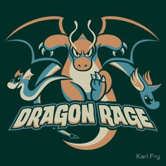 """Dragon Rage"" T-Shirts & Hoodies by Kari Fry | Redbubble"