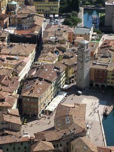 Riva Del Garda from Mount Rocchetta - Trentino-Alto Adige, Italy