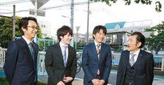 【ザテレビジョン芸能ニュース!】画像:【写真を見る】「部長(吉田)に怒られてる感じにしよう!」というもすぐに爆笑トークに展開する4人