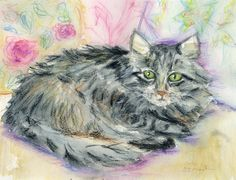 """""""My Sophie"""" - watercolor - Suzanne Martin"""