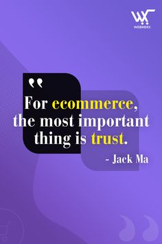 Without trust there is no ecommerce. Only when the customers trust your brand then only, they will make a purchase. Hence, a company must take efforts to build the trust of the customers.😌 Ecommerce Solutions, Trust Yourself, Effort, How To Make