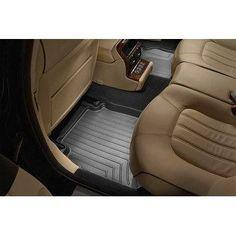 Weathertech Custom Fit Rear Floorliner For Toyota Venza (Bla - Black