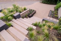 Modern Landscape Stairs Design, Pictures, Remodel, Decor and Ideas - page 8