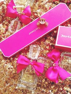 pink, juicy couture, and perfume image Pink Love, Pretty In Pink, Pink And Gold, Hot Pink, Viva La Juicy Perfume, Juicy Couture, Just Girly Things, Girly Stuff, Pink Stuff