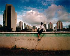 Weng Fen - Sitting on the Wall, 2002
