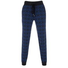 Paul by Paul Smith knitted jacquard trousers.