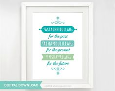Digital Download Astaghfirullah For The Past by LittleWingsGallery