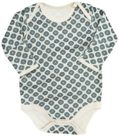 Recommended:  Shirts (5-7): Look for T-shirts and long-sleeved shirts with plenty of room in the neck, or snaps at the neck, so they slip easily over your child's head. Many parents prefer styles that go over the tummy and diaper and snap at the crotch, onesies.  When babies are very little onesies that crossover and don't have to go over their heads at all are nice. They also come in varieties with connected mitts for newborns.