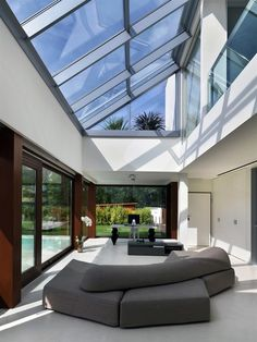 ♂ modern home with ceiling window great light source