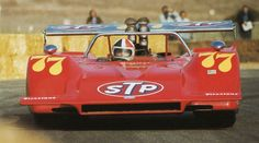 Chris Amon, #77 March 707 (March Engineering Ltd), Can-Am Laguna Seca 1970 (4th)