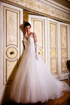 Hollywood Drems Sapphire Bridal Gown Style - SALOME