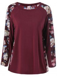 SHARE & Get it FREE | Raglan Sleeve Floral Pattern T-ShirtFor Fashion Lovers only:80,000+ Items • New Arrivals Daily • Affordable Casual to Chic for Every Occasion Join Sammydress: Get YOUR $50 NOW!