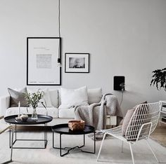 Sunday night living room inspo via @greydeco.se #urbancouturedesigns #greylivingroom #scandinaviandesign