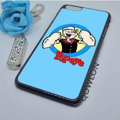 Popeye Cartoon iPhone 6 Plus | 6S Plus Case
