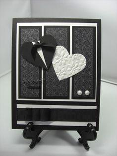 Wedding, Black Tie or Anniversary Card