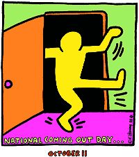 """National Coming Out Day (NCOD) is an internationally observed civil awareness day for coming out and discussion about people that are gay, lesbian, bisexual, transgender (LGBT), etc. It is observed by members of the LGBT communities and their supporters (often referred to as """"allies"""") on October 11 every year, or October 12 in the United Kingdom."""