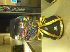 Gum ball machine teacher gift idea