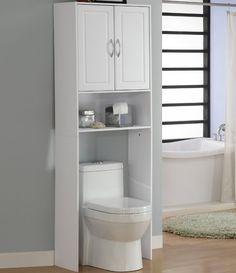 Die 19 besten Bilder von Regale über wc | Flush toilet, Home decor ...