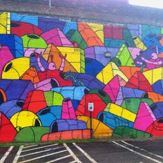 Street art in downtown Richmond va