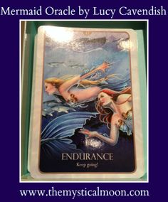 Card of the Day ~ Endurance, Keep Going! Don't give up when you are in the midst of frustration and stagnancy. You have worked too hard to turn back now....onward and upward!