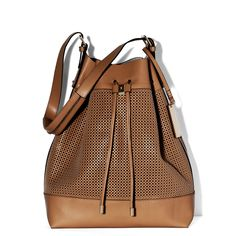 Perf Drawstring Bag - Vince Camuto