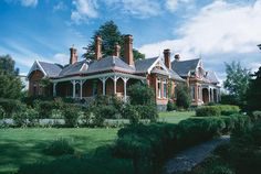 Arcoona House, Deloraine, Tasmania - A fine example of the Australian Federation style