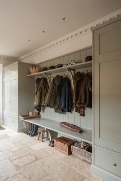 Awesome A bootroom/mudroom designed for an English country house by Artichoke. The post A bootroom/mudroom designed for an English country house by Artichoke…. appeared first on Home Decor Designs Trends . English Country Kitchens, Country Kitchen Designs, English Country Houses, Kitchen Country, Country Life, English Farmhouse, Country Homes, Modern Country, Country Style Houses
