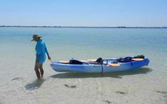 Kayaking to Caladesi Island State Park, off the coast of Clearwater and Dunedin, is a great way to experience what has been called the best beach in America. Caladesi Island State Park, Island Beach State Park, Dunedin Florida, West Florida, Florida Travel, Florida Beaches, Florida Honeymoon, Honeymoon Spots, Clearwater Beach Pier 60