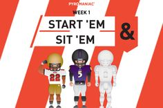 Start 'Em & Sit 'Em for Week 1 Ems, Family Guy, Content, People, Fictional Characters, Fantasy Characters, People Illustration, Folk, Griffins